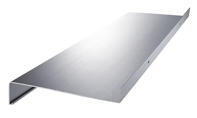 aluminium fensterbank fensterbrett ausladung 70 mm zuschnitt anthrazit silber ebay. Black Bedroom Furniture Sets. Home Design Ideas