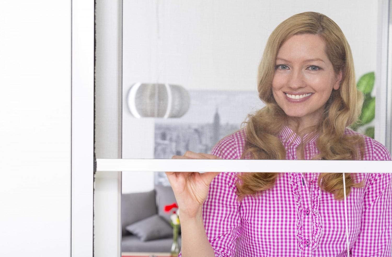 insektenschutz rollo fliegengitter insektenschutzrollo fenster smart zuschnitt ebay. Black Bedroom Furniture Sets. Home Design Ideas