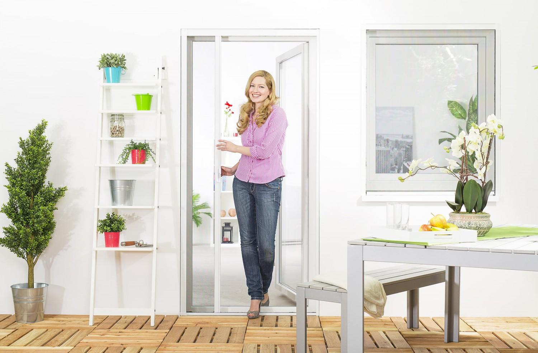 insektenschutz fliegengitter rollo t r insektenschutzrollo smart wunschma ebay. Black Bedroom Furniture Sets. Home Design Ideas