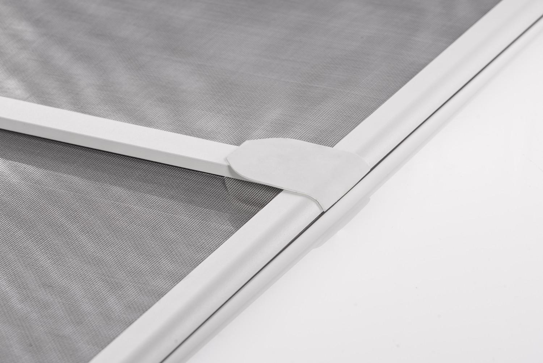 Protecci n insectos tela mosquitera puerta marco aluminio for Puertas 90 x 210