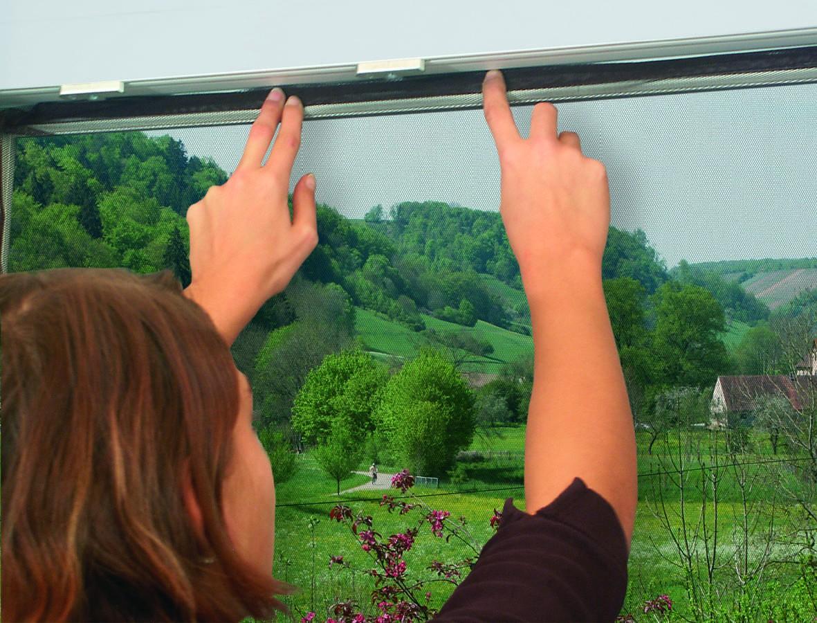insektenschutz lamellenvorhang f r t ren t rvorhang polyester 120 x 210 cm. Black Bedroom Furniture Sets. Home Design Ideas