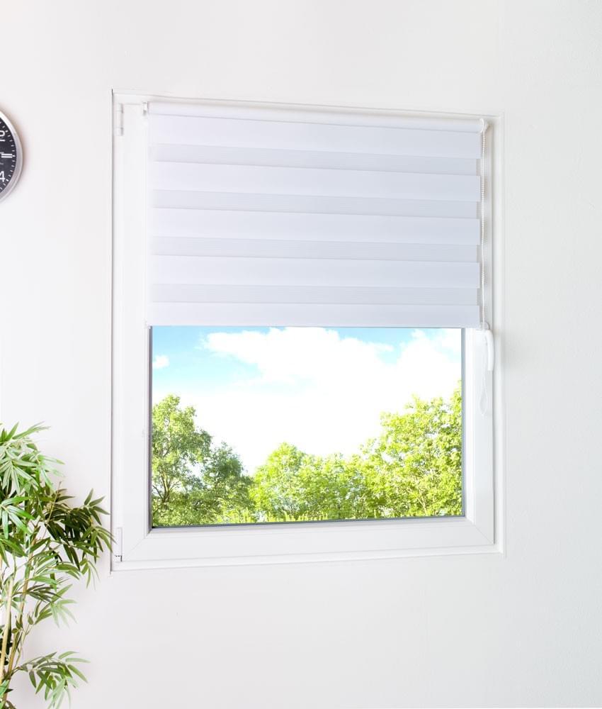sonnenschutz fenster rollo klemmrollo verdunkelungsrollo wei neu 100 x 150cm ebay. Black Bedroom Furniture Sets. Home Design Ideas