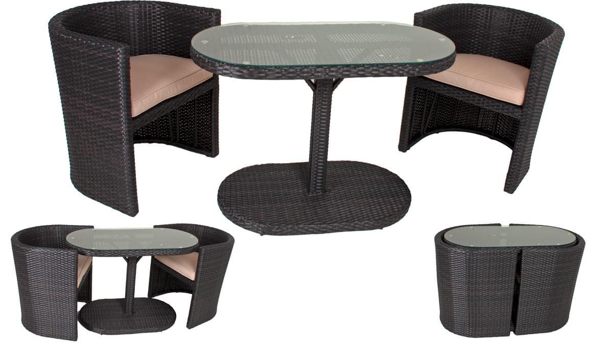Details zu Gartenmöbel Sitzgruppe Gartenlounge Loungeset Rattanmöbel