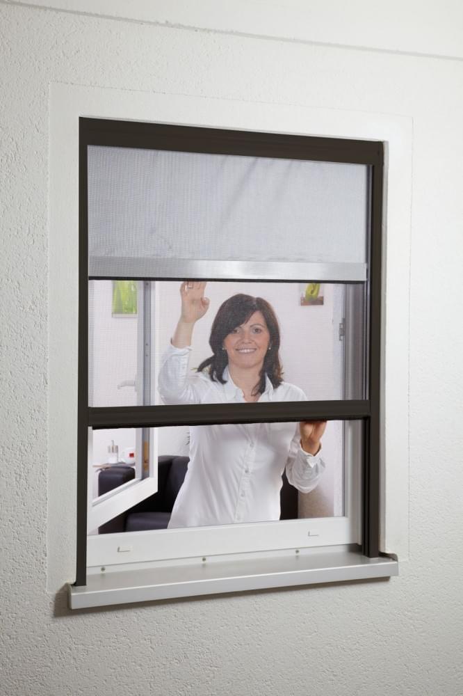insektenschutz sonnenschutz fliegengitter dachfenster kombirollo 130 x 160 braun ebay. Black Bedroom Furniture Sets. Home Design Ideas