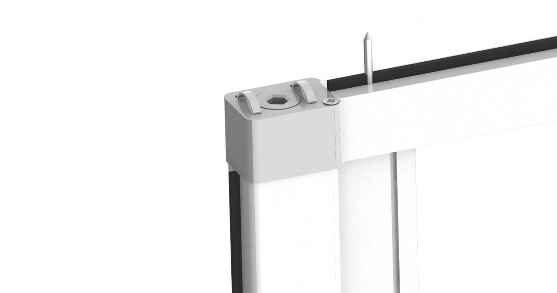 insektenschutz fliegengitter rollo t r insektenschutzrollo smart 220 x 125 cm ebay. Black Bedroom Furniture Sets. Home Design Ideas