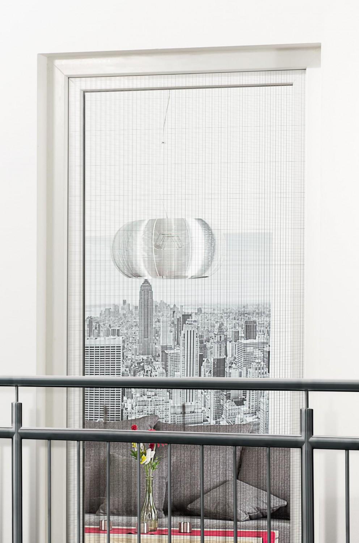 fliegengitter fenster tur klettband franzosischer balkon With französischer balkon mit polyester sonnenschirm färben