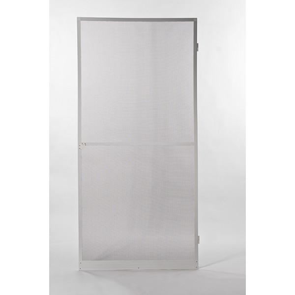 wei insektenschutz fliegengitter t r alurahmen zebra 100 x 210 cm wei. Black Bedroom Furniture Sets. Home Design Ideas